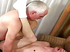 Silver daddy`s rough business meeting