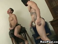 Latino Gays Tight Anal Pounding Action